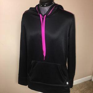 Danskin 2X(20) Black/Pink athletic Hoodie Pullover